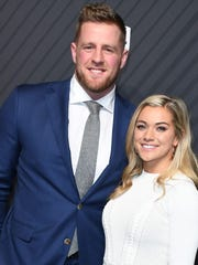 J. J. Watt and Kealia Ohai were married on Saturday.