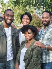 The Detroit Dough team (back row, from left): Daniel