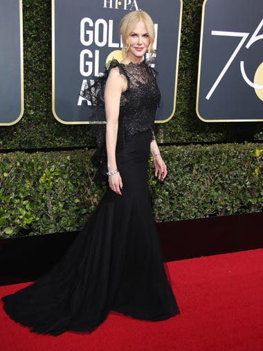 Nicole Kidman wore black in solidarity with the women