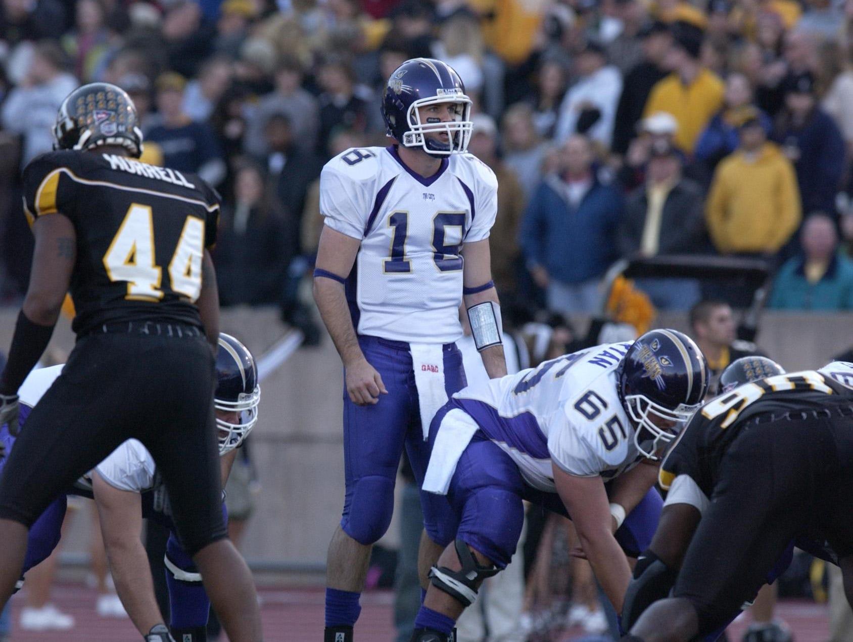 Former Western Carolina University quarterback Justin Clark is the new football coach at North Henderson.