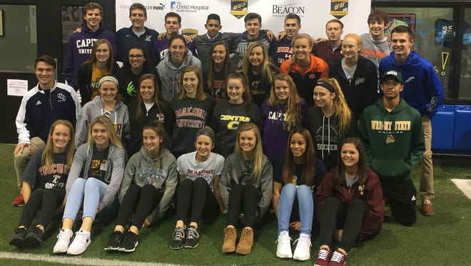 Beacon Orthopaedics and Sports Medicine hosted 42 soccer signees at a CUP gathering Feb. 2