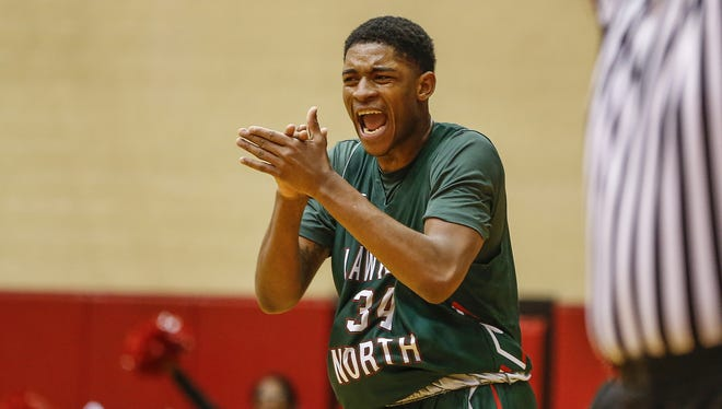 Lawrence North's Kevin Easley is one of the area's top talents.