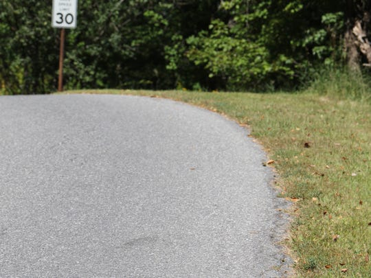 Walsh Road is seen just north of Bloomer Road in the Town of Union Vale near where cyclist John M. Dunn was found with multiple severe injuries on Sept. 6, 2015.