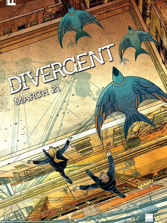 Divergent IMAX poster