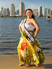 Maryanne Santos, Liberation Queen candidate in San Diego, hopes to influence young Chamorro men and women to take pride in their culture.