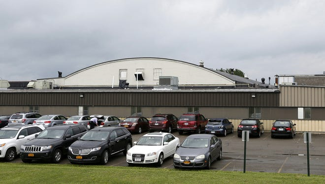Potential buyers have shown interest in the former Schweizer Aircraft building in Big Flats, which houses several tenants and also has 60,000 square feet of available space.