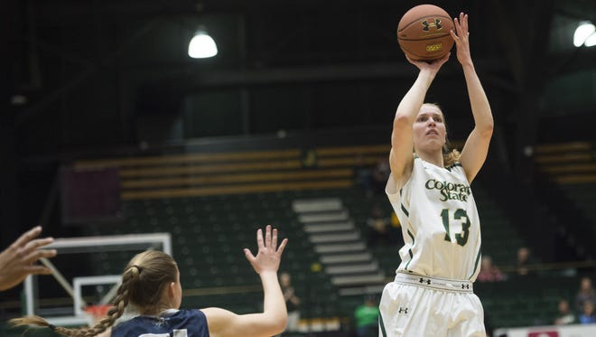 CSU guard Ellen Nystrom  is one point shy of 1,000 for her career. The Rams host Adams State at 2:30 p.m. Wednesday.