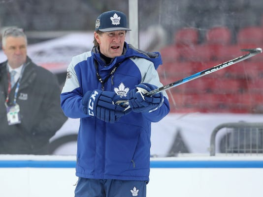 USP NHL: CENTENNIAL CLASSIC-PRACTICE DAY S HKN CAN ON
