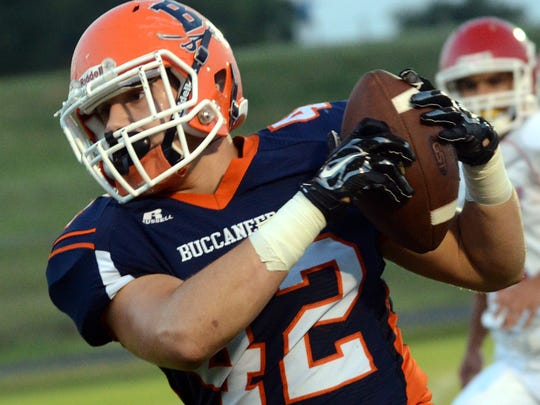 Beech linebacker Heath Crabtree