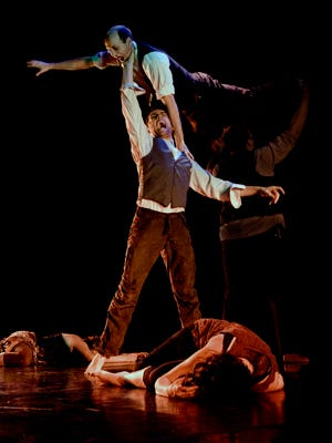 "PUSH Physical Theatre will present ""Dracula"" Oct. 4-5, 2018, at The Grand Oshkosh."