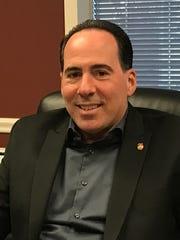 Belleville Police Chief Mark Minichini in his office