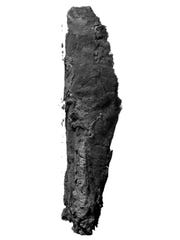 The scroll from En-Gedi. The seemingly unremarkable