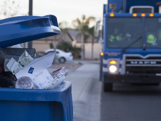 While some Arizona cities await contract changes, others already have made significant cuts to their recycling programs.