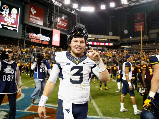 Quarterback Skyler Howard returns for West Virginia.