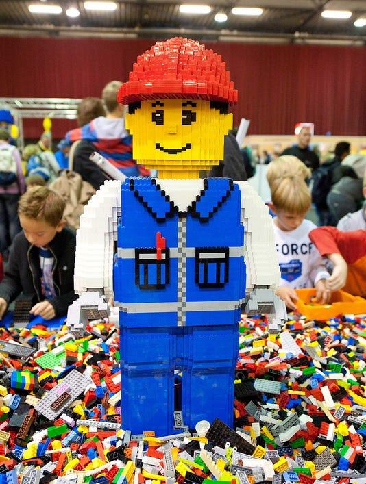 EPA FILE NETHERLANDS ECONOMY LEGO