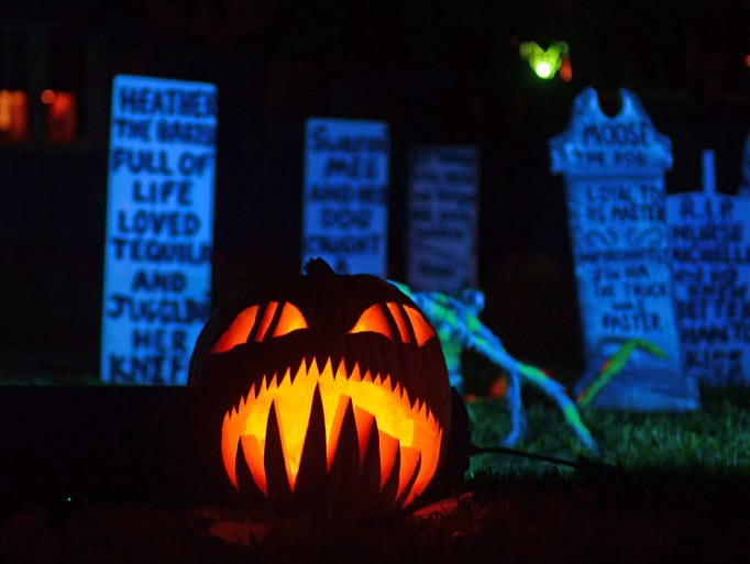Children this year will celebrate Halloween dressed