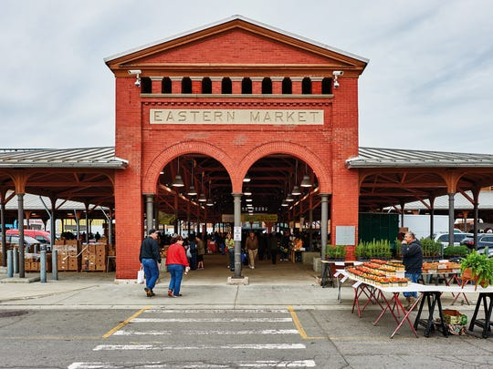 Eastern Market is one of the more familiar sites photographed