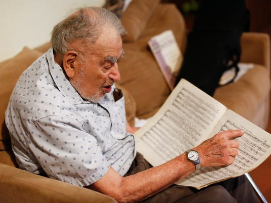 Ed Simons, 100, will be the oldest active conductor