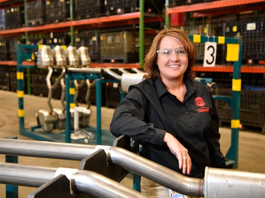 Kim Williams is the Tennessee-based director of global quality for auto parts maker Tenneco. America is running short of people like Williams just as automation presses home the need for new skills in auto plants.