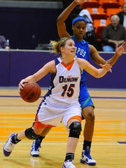 Lyndzee Greene McConathy during her playing days at