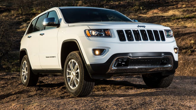 A 2014 Jeep Grand Cherokee Limited.