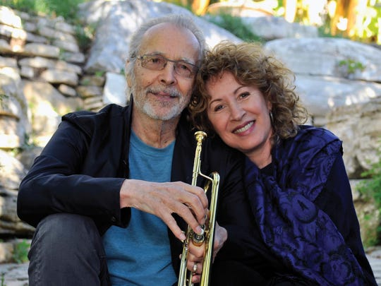 Herb Alpert and his wife, Lani Hall, will perform together at the jazz festival.