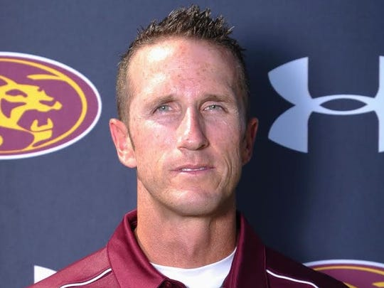 Phoenix Mountain Pointe girls basketball coach Justin Hager is accused of emailing inside information to other teams.