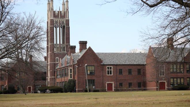 Dwight Morrow High School in Englewood.
