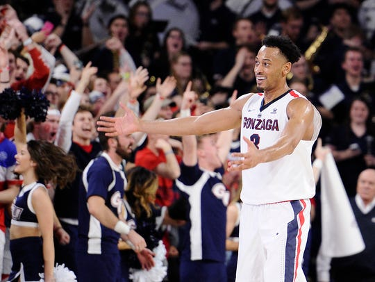 Gonzaga Bulldogs forward Johnathan Williams is a highly
