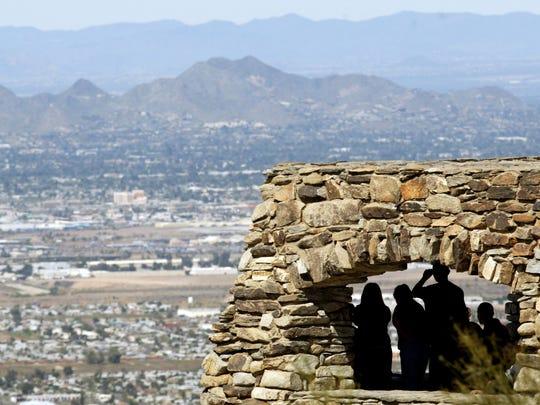 Dobbins Lookout on South Mountain in Phoenix.