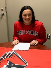 Alex Derubo will be a soccer goalie at Ball State. The Salem senior plays for the Michigan Hawks.