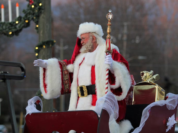 Downtown Black Mountain was filled with holiday cheer