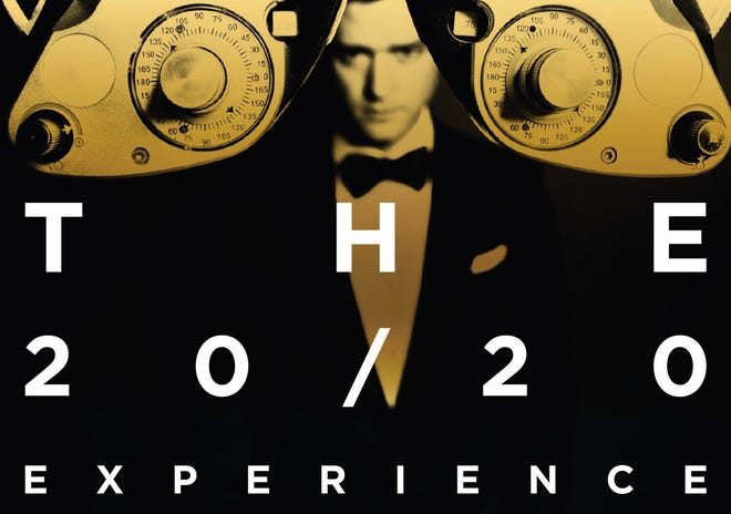 The cover art for Target's special edition of 'The 20/20 Experience -- 2 of 2'