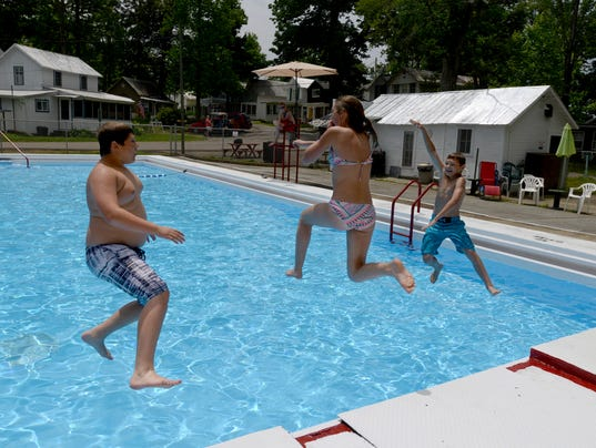 Lancaster Camp Ground Pool Reopens