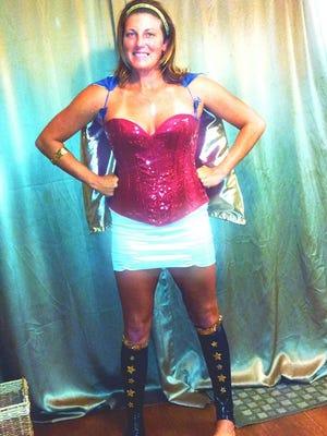 FLORIDA TODAY's fitness & water reporter Michelle Mulak revealed her true superhero identity last year on Halloween.