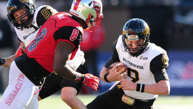 Nick Mullens and Southern Miss met Western Kentucky in last season's Conference USA Championship. The media predicts Southern Miss will face Middle Tennessee in the 2016 title game.