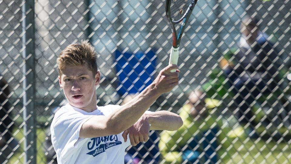 match & flirt with singles in cedar crest Cedar crest's dylan tull, pictured, lost to his teammate jackson muraika, 6-2,6-0, in the ll aaa singles match on tuesday, may 2, 2017.