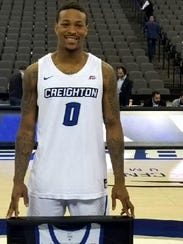 Marcus Foster was honored on his senior day at Creighton.
