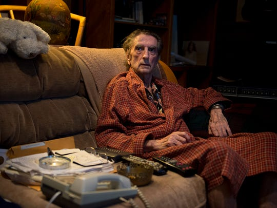 Harry Dean Stanton poses for a portrait on Wednesday,