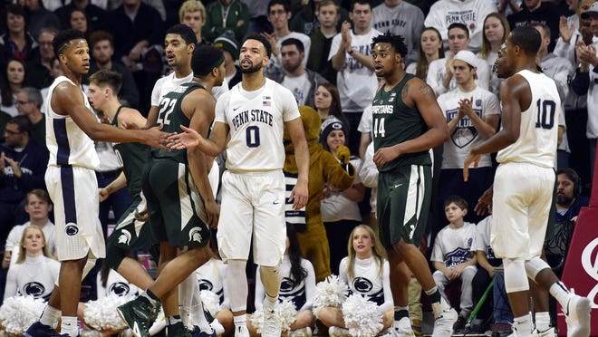 The last time Michigan State and Penn State met, the Nittany Lions won 72-63 at the Palestra in Philadelphia. MSU struggled from start to finish.