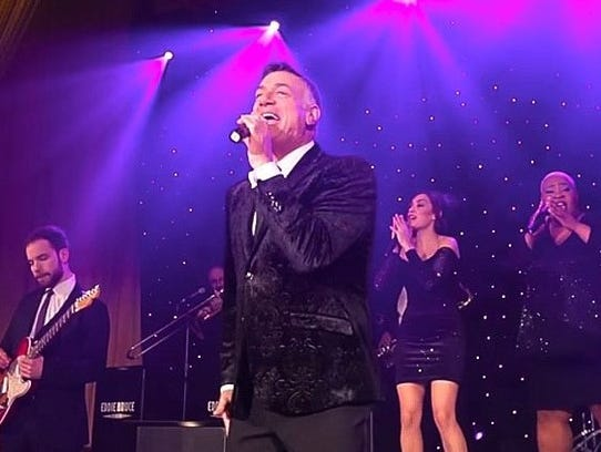 Eddie Bruce has performed as a club singer and with