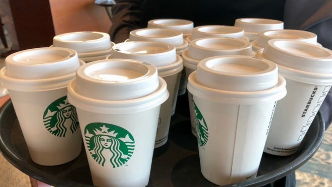 Starbucks is bringing happy hour back with 50 percent off all espresso drinks on Thursday, March 29 for its rewards members.