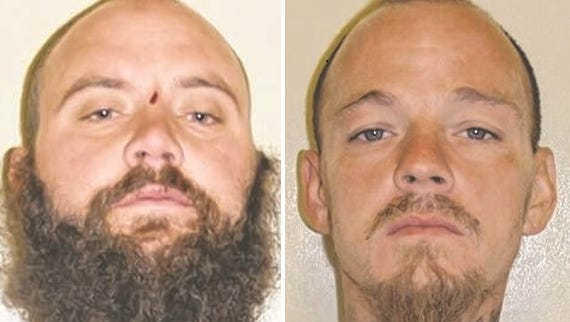 Todd E. Zane and Shawn M. Stratton were arrested in a CVS parking lot.