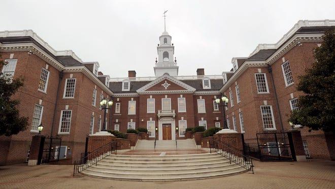 Legislative Hall in Dover