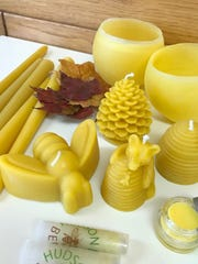 Beeswax products are made and sold at Hudson Valley