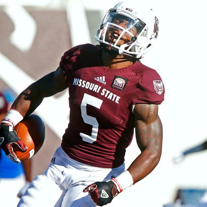 Missouri State Bears wide receiver Deion Holliman (5)