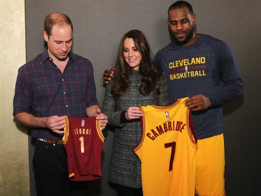 Will Kate and LeBron