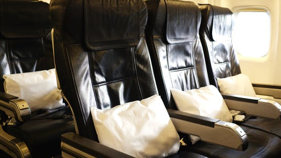 "When you buy an airfare, airlines do not ""guarantee"" a particular seat, schedule or flight."