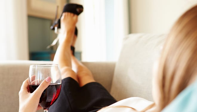 Drinking a glass of wine after work every day could be a problem - or it could be fine.
