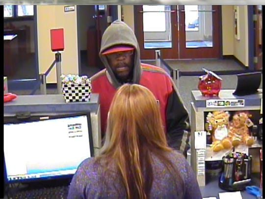Springettsbury Township Police said this man robbed the Members 1st Federal Credit Union on Mount Rose Avenue on April 6, 2017, spurring an hourslong manhunt.
